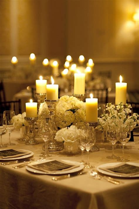 302 Best Candle Wedding Centerpieces Images On Pinterest Candle And Flower Centerpieces