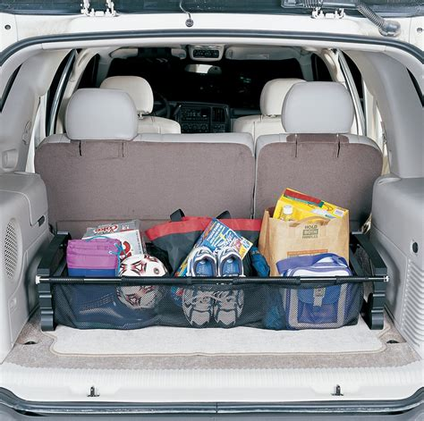 hopkins collapsible vehicle trunk cargo organizer  mesh bins hopkins vehicle organizer hm