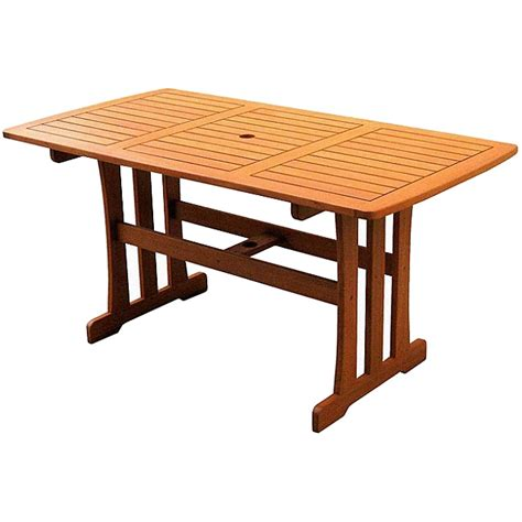 Patio Wood Table Dining Table Patio Dining Tables