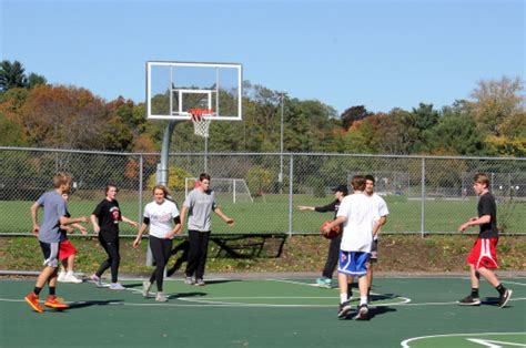 wellesley outdoor basketball courts now and then the
