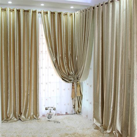 curtain looks pale gold curtains looks luxury