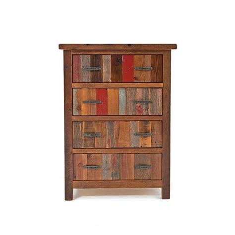 Back To The Barn 4 Drawer Upright Chest Green Gables