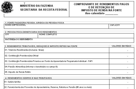 comprovante do inss 2016 do aposentado comprovante de rendimento 2015 do exercito comprovante