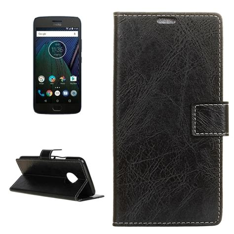 Flip Wallet Moto G5s Plus Flip Cover Leather Flip Cover Moto G5s for motorola moto g5 plus retro texture horizontal flip leather with holder