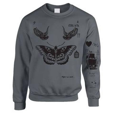 harry styles tattoo crewneck sweatshirt harry styles tattoo crewneck sweatshirt one direction