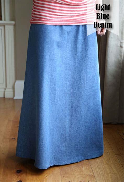 modest s aline skirt made to order