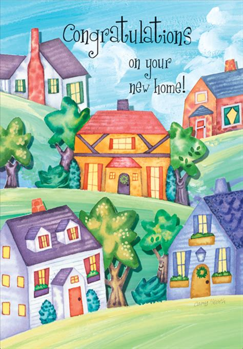 happy in your home best wishes for a new home new home greeting cards more