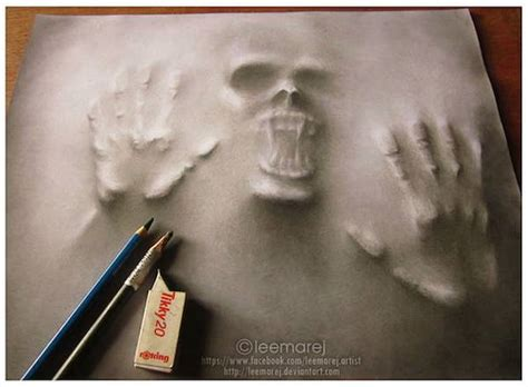 How To Make A Realistic Paper - terrifyingly realistic drawings of ghosts forcing their