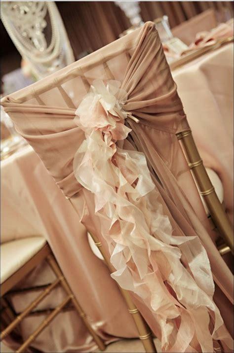 Ruffle Chair Sash ruffled chair sash thoughts weddingbee