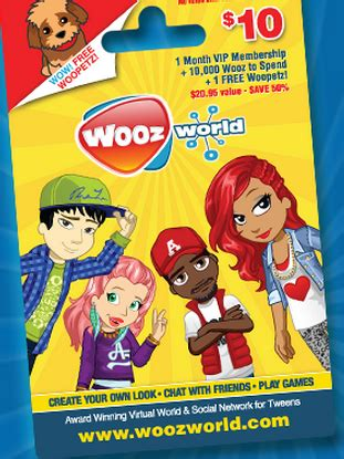 Free Woozworld Gift Card Codes 2017 - woozworld gift card lamoureph blog