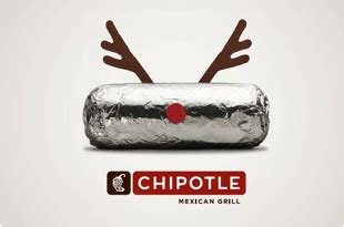 Chipotle Gift Card Deal - chipotle holiday gift card deal 2012