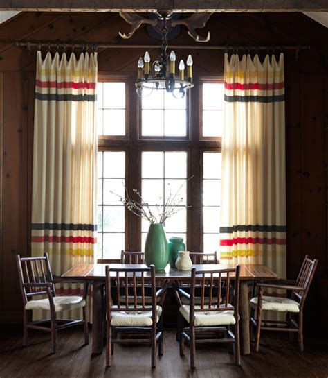 Log Cabin Style Curtains by Cabin Decorating Ideas Log Cabin Interior Design