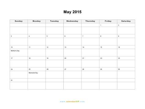 may 2015 calendar printable pdf template excel doc may 2015 calendar blank printable calendar template in