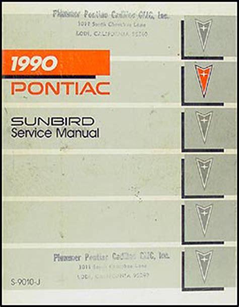 1990 pontiac lemans repair shop manual 90 le mans gse 1990 pontiac sunbird repair shop manual 90 se le gt