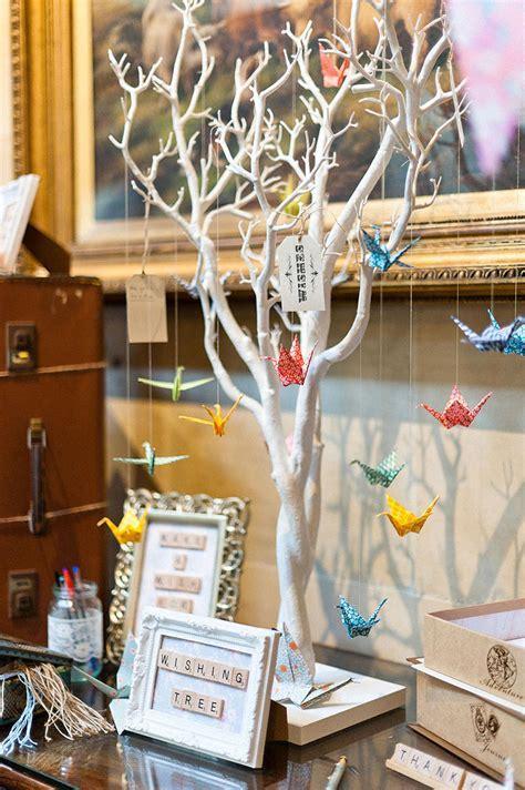 28 ideias fofas de decoração de casamento com origami