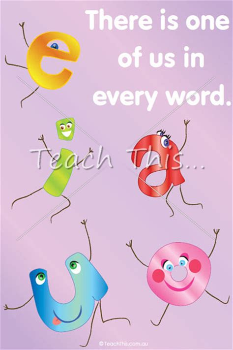 printable vowels poster vowel poster printable alphabet grammar writing and