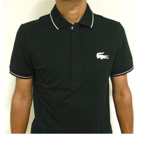 Black Blouse Oversized Kemeja Polos Diskon reason rakuten global market lacoste lacoste polo shirts s ph7423 mens black croc