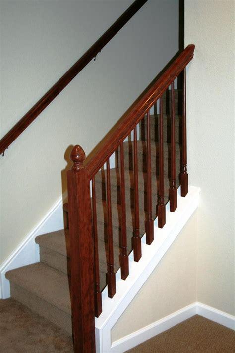 basement stair railings basement railing home ideas