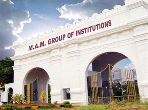 Ssn Mba Average Salary by Mam College Of Engineering And Technology Mamcet