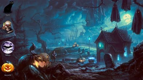 halloween desktop themes windows 7 free halloween theme for windows 10 8 7