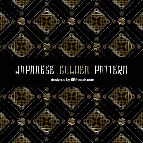 japanese pattern ai download japanese golden pattern vector free download