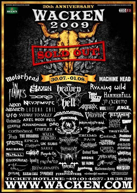 Kaos Band Metal Arch Enemy wacken open air el evento grande de metal mundial 2009