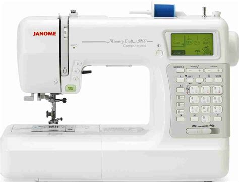 Janome Memory Craft janome memory craft mc5200 reviews productreview au