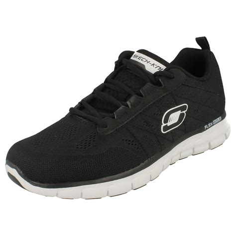 Skechers Memory Foam mens skechers lightweight memory foam lace up trainers