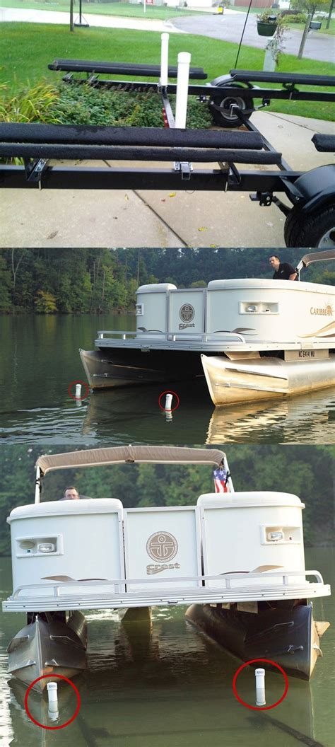 deck boat height on trailer ce smith post style guide ons for pontoon boat trailers