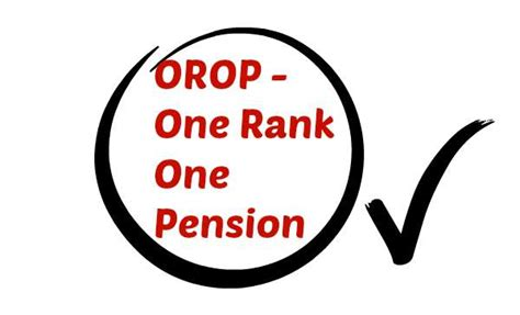 one rank one pension orop implementation 26022016 orop a situation of government s own making
