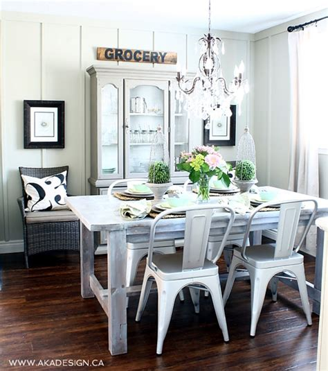 bungalow dining room charming home tour aka design town country living
