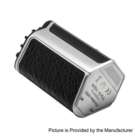 Finder 250 Druga Black 3 Batrai authentic thinkvape finder 250w black silver evolv dna 250 tc vw mod