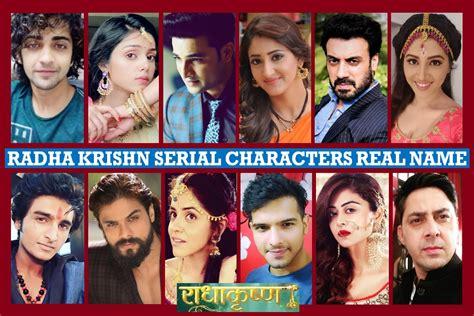 actor name of radha krishna radha krishna serial characters real name star bharat