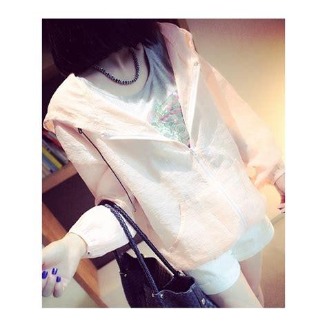Wanita Transparan jaket wanita transparan t1448 moro fashion