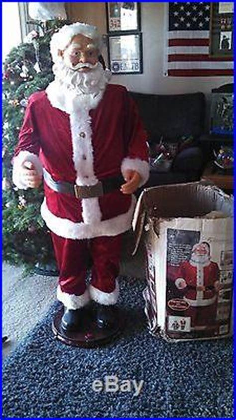 five foot santa claus 5 foot animated singing and talking santa claus