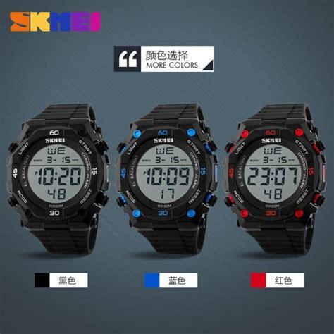 Jam Tangan Skmei Dg1027 skmei jam tangan digital pria dg1130 black blue