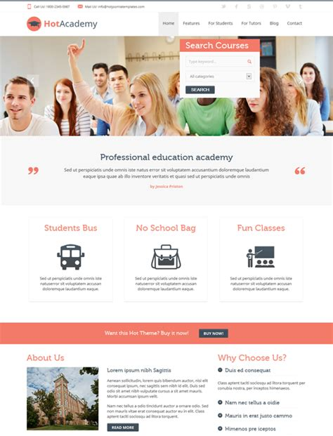 themes education joomla 7 more of the best joomla education themes down