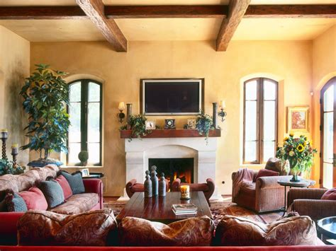 tuscan inspired living room photo page hgtv