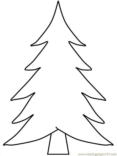 christmas tree coloring page online christmas trees