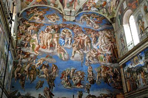 La Chapelle Sixtine Plafond by La Chapelle Sixtine Le Jugement Dernier