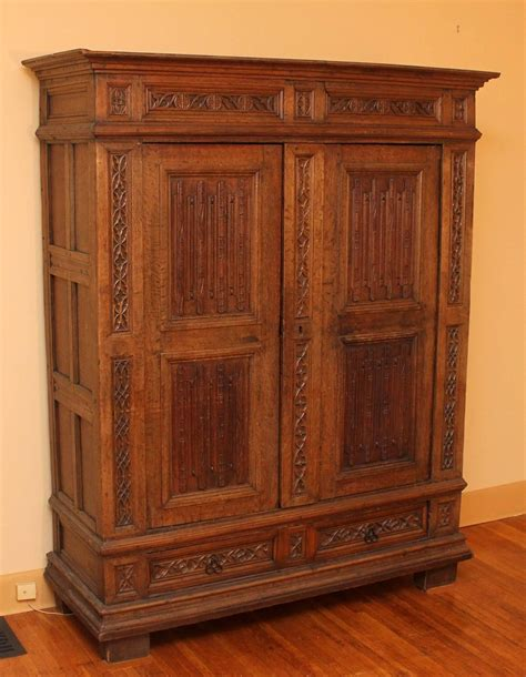 gothic armoire 16th century french gothic armoire at 1stdibs