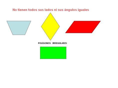 figuras geometricas regulares y sus nombres regulares e irregulares