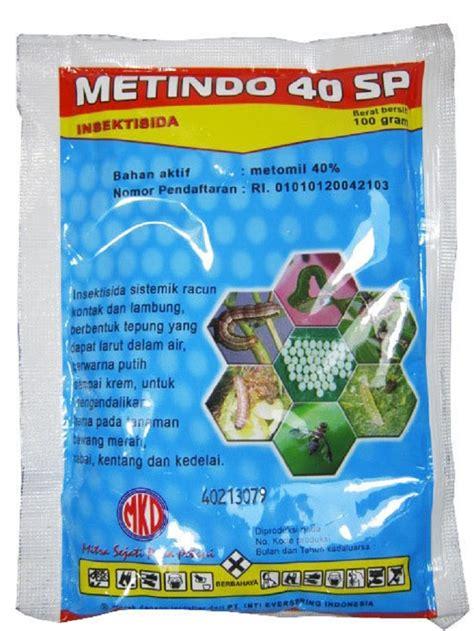 obat pertanian pembunuh serangga insektisida metindo 40sp