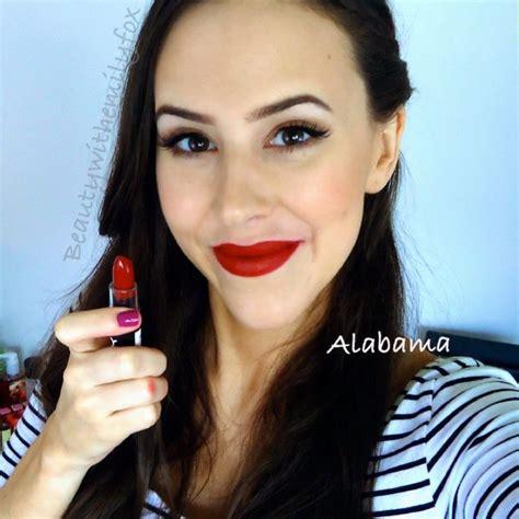Lipstik Nyx Alabama nyx matte lipstick lip swatch alabama channel alabama cas and nyx matte