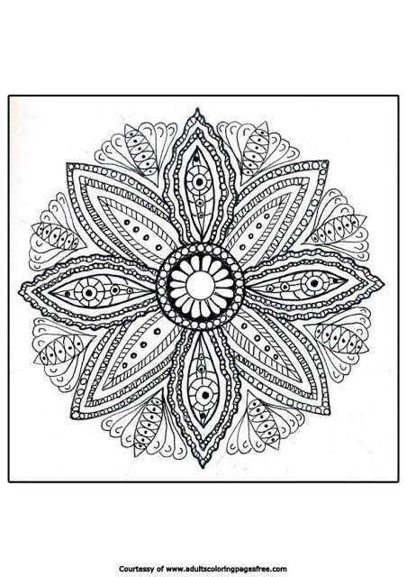 mandala coloring pages therapy 110 best images about coloring pages for adults on