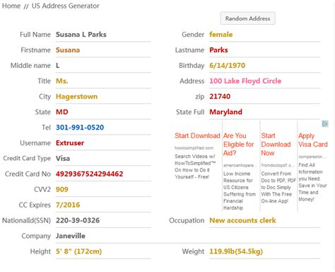 Search Address By Name And City Address Generator All The World Home