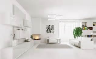 interior design minimalist living room white furniture