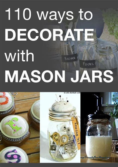 Ways To Decorate Jars by 194 Best Images About Jars On How To