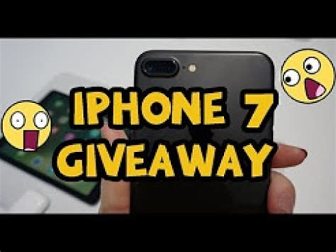 iphone 7 giveaway win a free iphone 7