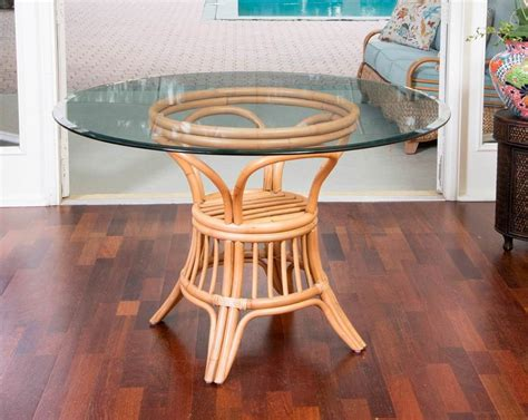 Driftwood Finish Dining Table Universal Dining Table Base Antique Honey Rustic Driftwood Finish Wicker One